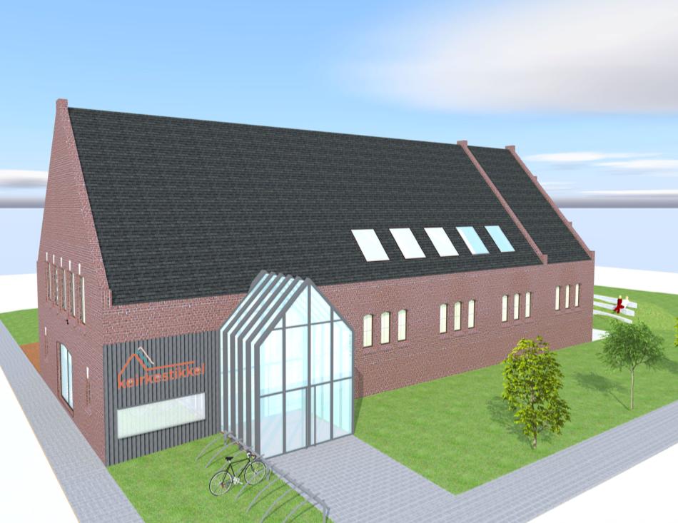 ontwerp kerk OLV